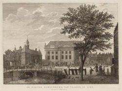 De Nieuwe Schouwburg, van vooren, in 1786