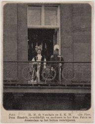 Bezoek Koningin Wilhelmina en Prins Hendrik, 1908