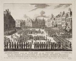 Afbeelding van de Parade op de Neude binnen Utrecht