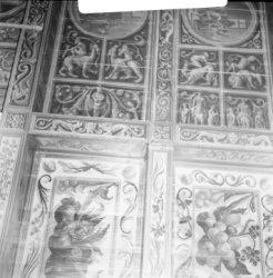 Nieuwe Doelenstraat 16, detail plafondschildering