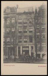 Tehuis 'Koningin Wilhelmina', Prinsengracht 1015