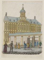 De Hulpbeurs met het Koninklijk Paleis