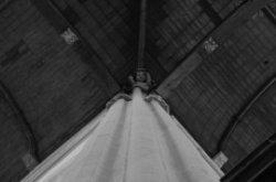 Nieuwezijds Voorburgwal 143, Nieuwe Kerk, detail gewelf