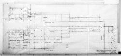 Ontwerptekeningen met aanzichten, plattegronden, doorsneden en silhouet; nr. 2