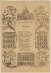 De Nachtwacht aan Amstels ingezetenen, 1 Januarij 1854