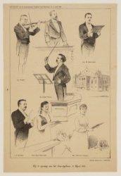 Bij de opening van het Concertgebouw, 11 April 1888