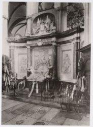 De graftombe van Michiel Adriaenszoon de Ruijter in de Nieuwe Kerk