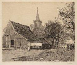 Naarden, met op den achtergrond de Kerk
