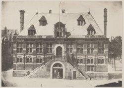 De Westerhal op de Westermarkt gezien vanuit Keizersgracht 183