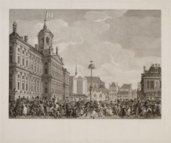 Feest der Vrijheid, Gevierd te Amsterdam, op het Plein der Revolutie, 4 Maart 17…