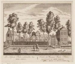 De Hofstede Thalia; toebehorende den Heer Hartog. Aan de Haarlemmervaart