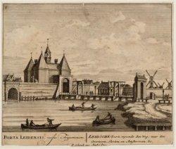 LEIDSCHE-Poort, wysende den Weg: naar den Overtoom, Slooten en Amsterveen