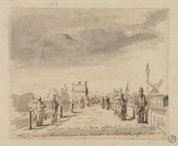 Het begin van de Haarlemmerweg, gezien richting Sloterdijk