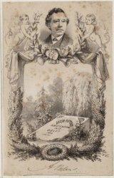 Anton Peters (1812 / 1872), toneelspeler in Amsterdam en Den Haag