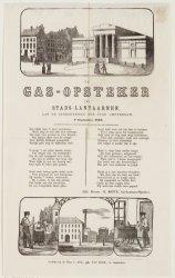 De gasopsteker der stadslantaarnen aan de ingezetenen der stad Amsterdam