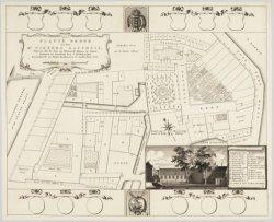 Platte Grond van het St. Pieters Gasthuis, Benevens alle de daar aan behoorende …