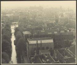 Panorama vanaf de toren van de Zuiderkerk