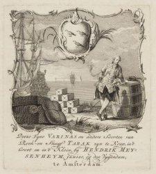 Hendrik Meysenheym, junior, op den Vygendam. Fyne Varinas en andere Soorten van …