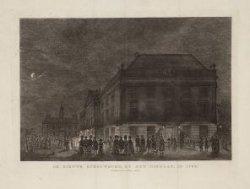 De Nieuwe Schouwburg, by het uitgaan, in 1786
