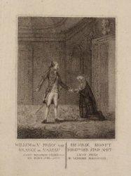 Willem de V, Prins van Orange en Nassau: Komt waarde vrind en blift stil ... etc