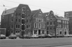 Nieuwzijds Voorburgwal 87 - 93, gevelwand tussen de Sint Geertruidensteeg en Sin…