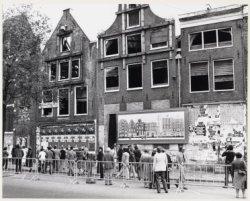 Nieuwezijds Voorburgwal 87-93. Stadsherstel begint officieel de restauratie van …