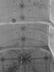 Nieuwezijds Voorburgwal 143, Nieuwe Kerk, plafond