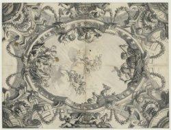 Ontwerp voor een plafondschildering in het huis De Koning van Polen, Herengracht…
