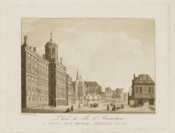L'hotel de ville d'Amsterdam