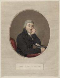 Portret van medicus en chemicus Johan Rudolf Deiman (1743-1808)
