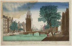 Single, la Tour de Jan-Rooden-Poort, et la nouvelle Eglise Lutherienne à Amsterd…