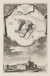 ''t Nieuwe Nonnen-Klooster. genaamt ter Lelien, nu ''t Gasthuis-hof