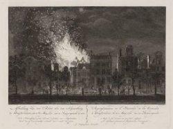 Afbeelding van den Brand van den Schouwburg te Amsterdam; den 11den May, 1772. v…