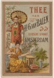 Thee van H.G. van Balen
