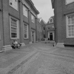 Kalverstraat 92, een binnenplaats van het Amsterdams Historisch Museum