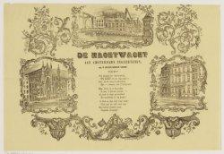De Nachtwacht aan Amsterdams Ingezetenen, op 1 Januarij 1860