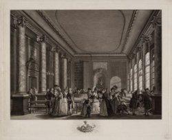 Felix Meritis, Keizersgracht 324. Interieur van de gehoorzaal op de eerste etage…