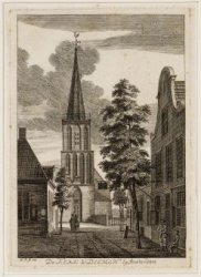 De kerk te Diemen by Amsterdam