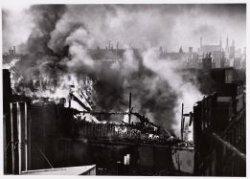 Brandweer Amsterdam; brand pand Koning van Zweden aan de Keizersgracht 147