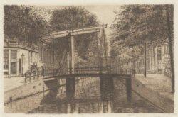 De Staalmeestersbrug (Brug 227) over de Groenburgwal voor de Staalstraat
