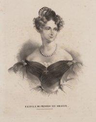 Anna Paulowna (18-01-1795 / 01-03-1865), de echtgenote van koning Willem II