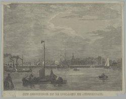 Het Oosterdok en de IJgracht te Amsterdam