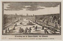 Afbeelding van de Buiten-Amstel, des Winters