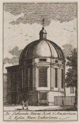 De Luthersche Nieuwe Kerk 't Amsterdam/ L'Eglise Neuve Lutherienne