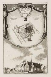 De Paulus Broeders ook Tertianen, nu de Oude-Waale-Kerk en St. Joris-Hof
