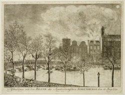 Afbeeldinge van den Brand der Amsterdamschen Schouwburg. den 11 May 1772
