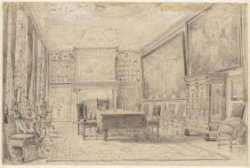 De regentenkamer van het Burgerweeshuis, Kalverstraat 92