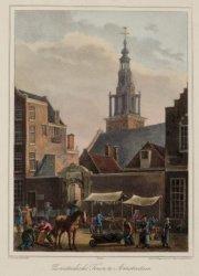 Zuiderkerks Toren te Amsterdam