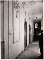 Interieur, Keizersgracht 192. Een gang
