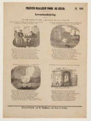 Kinderprent over J.C.J. van Speyk (1802-1831). Prenten-magazijn voor de jeugd